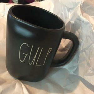 Rae Dunn black gulp mug